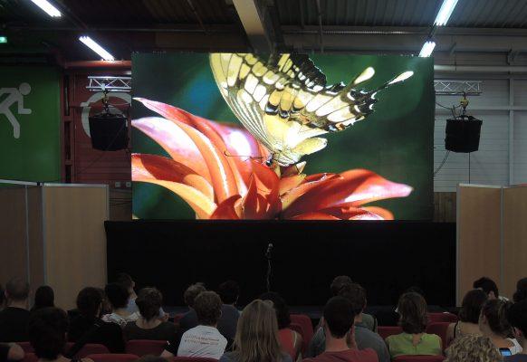 Ecran géant LED modulaire SUPERVISION SV3.6 Fête de l'Humanité