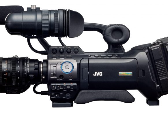 Studio/portable camera JVC GY HM790E Supervision giant video screen