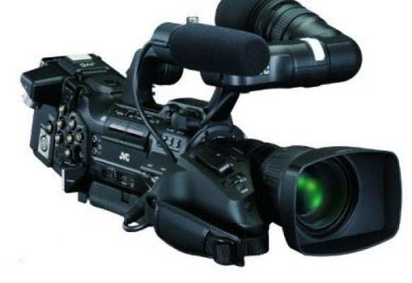 Cámara plató/portable JVC GY HM790E Supervision pantalla gigante video