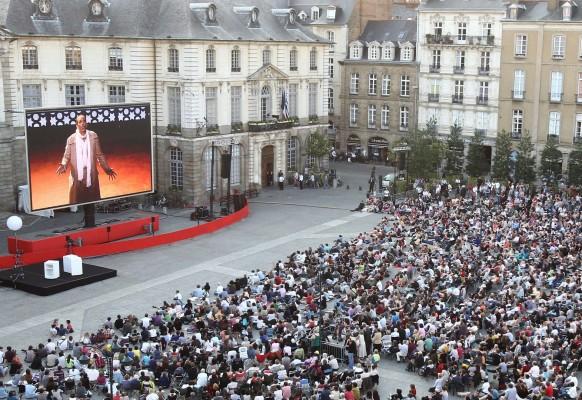 Ecran géant LED mobile SUPERVISION LM84 Enlèvement au Serail – Opera de Rennes