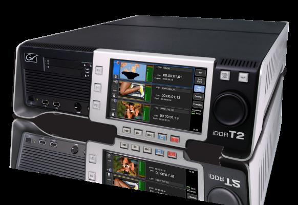 Lecteur Grass Valley T2 turbo écran géant vidéo Supervision