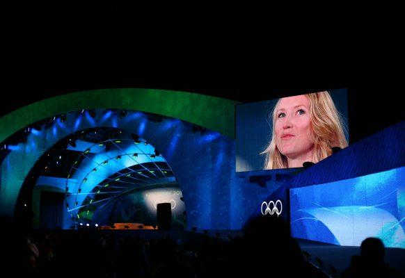Ecran géant LED modulaire SUPERVISION 12F Jeux Olympiques de Vancouver