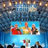 Modular LED screen SUPERVISION Olympic Games Sochi 2014