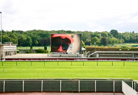 écran géant LED mobile LM103 Supervision Longchamp