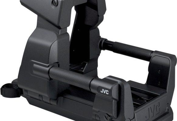 Berceau caméra plateau JVC-GY HM790 SUPERVISION Ecran géant vidéo