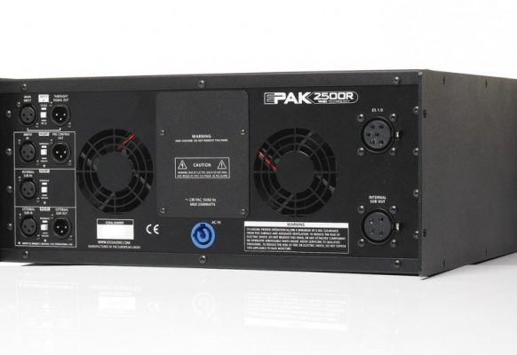 Sonorisation Système ES EPAK 2500/R SUPERVISION Ecran géant vidéo