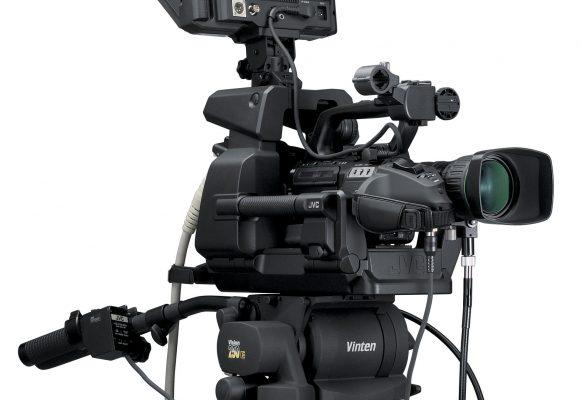 Caméra plateau JVC GY-HM790 E SUPERVISION écran géant vidéo