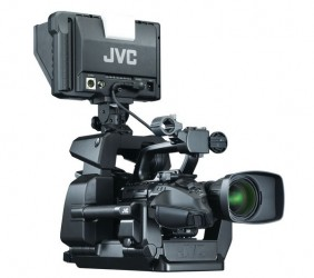 Studio camcorder JVC GY – HM790 E SUPERVISION Giant video screen