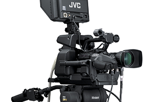 Studio camcorder JVC GY-HM790 E SUPERVISION giant video screen 300x200