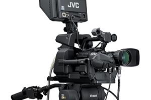 Cámara plató JVC GY-HM790 E SUPERVISION Pantalla gigante video 300x200