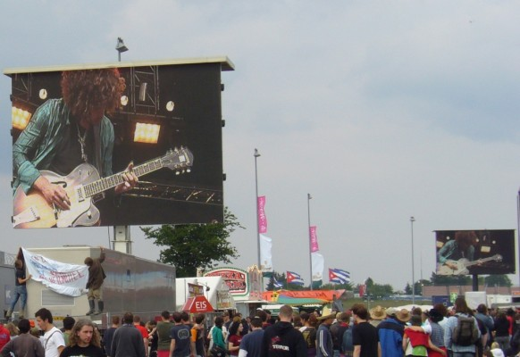 Giant LED screen SUPERVISION LMC40 Rock Am Ring Nurburgring