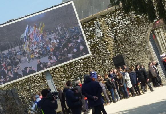 Pantalla gigante LED SUPERVISION LM17 Anneau de Jeanne d'Arc Puy du Fou