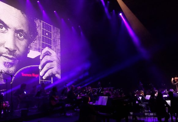 Giant LED screen indoor Zénith Paris SUPERVISION CH10.6