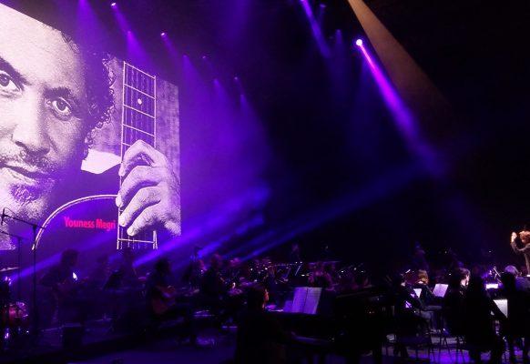 Ecran géant LED infoor fond de scène Zénith Paris SUPERVISION CH10.6