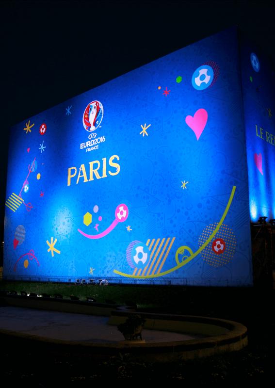 Branding SUPERVISION Championnats d'Europe de Football 2016
