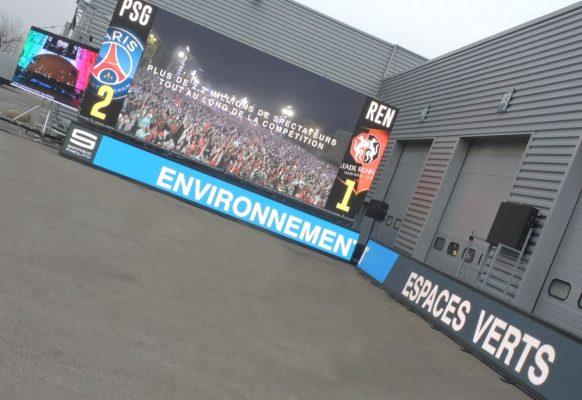 Ecrans géants LED M5.8 CH10.6 banners Portes Ouvertes Supervision