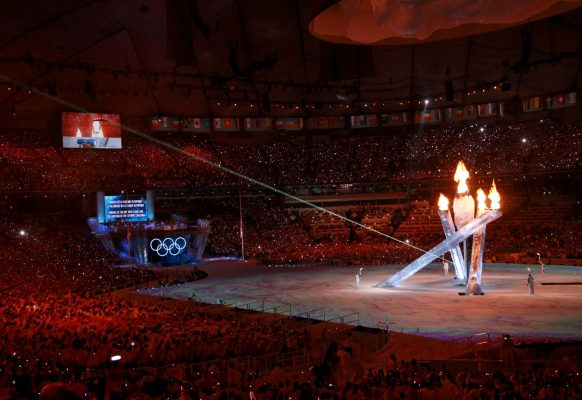 Giant LED screen Supervision 12F Olympic Games Vancouver 2010