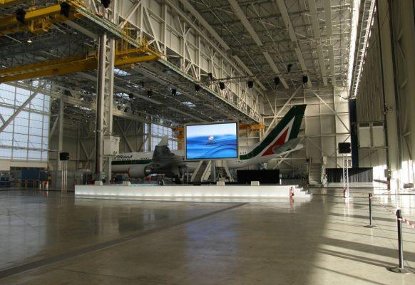 Ecran géant LED Supervision LM15 Airbus