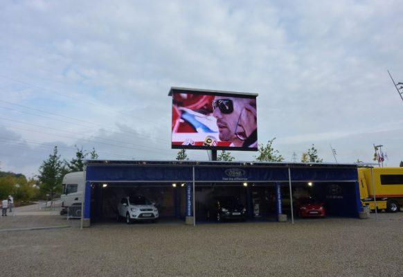 Ecran géant LED Supervision LMC40 Rallye Strasbourg