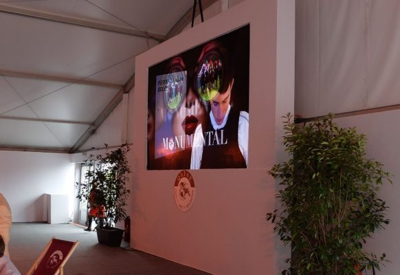 Giant LED screen Supervision SV3.6 Qatar Prix de l'Arc de Triomphe