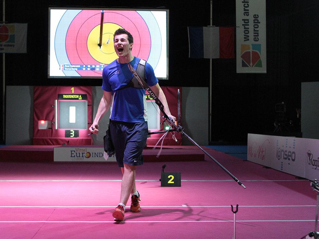 Ecran géant LED Supervision LM17 Vittel Euro Indoor Archery Tir à l'arc