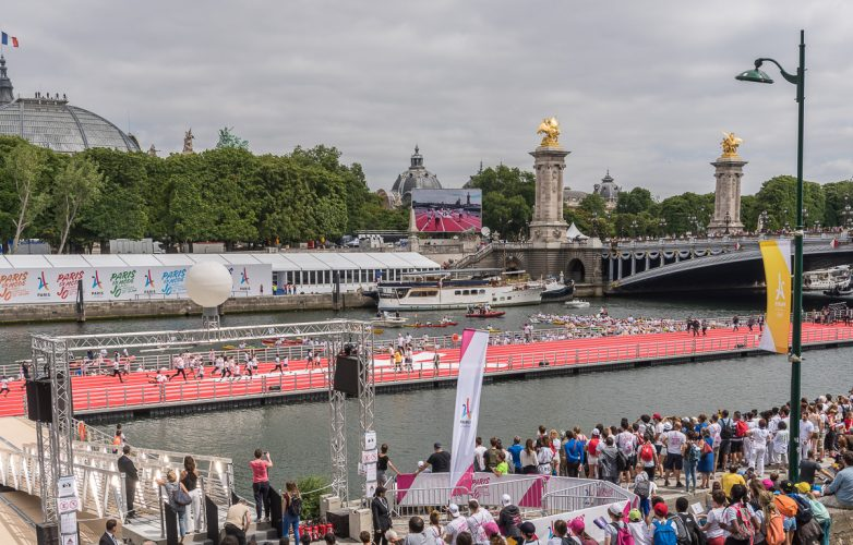 Giant LED screen Supervision LM103 Olympic Day Paris