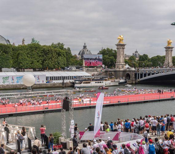 Ecran géant LED Supervision LM103 Journées Olympiques Paris