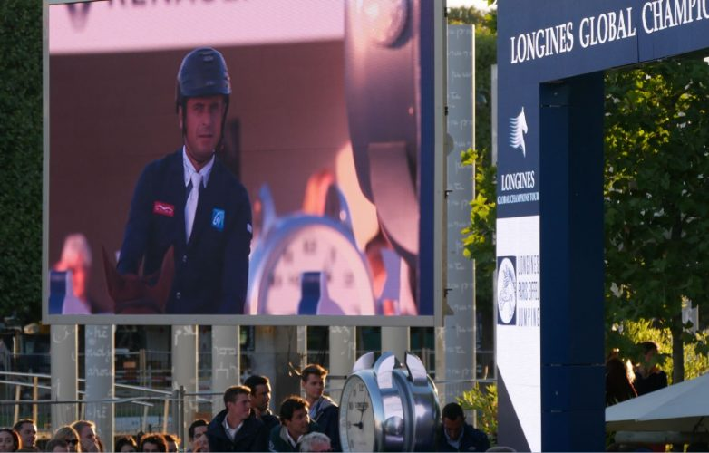 Ecran géant LED Supervision LM17 Longines Paris Eiffel Jumping