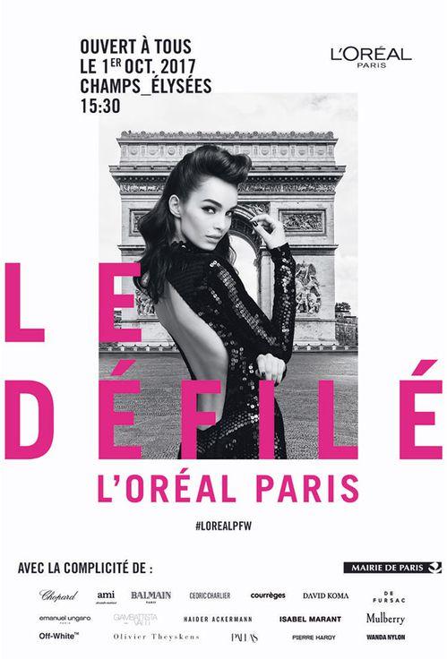 Défilé L'Oréal Paris