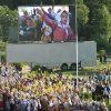 Ecran géant Supervision LMC50 aux 40 ans Cinéscénie Puy du Fou