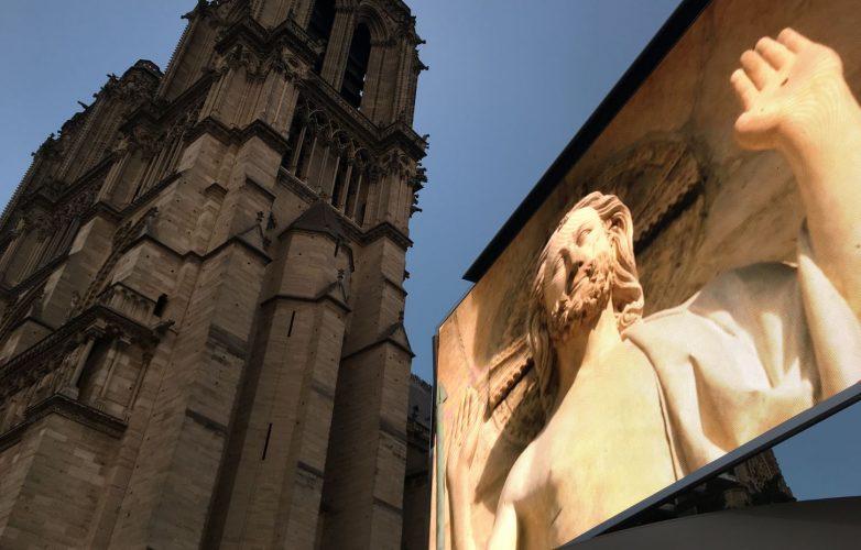 Ecran géant Supervision LMB46 Dame de Coeur Son et lumière Notre Dame de Paris 2