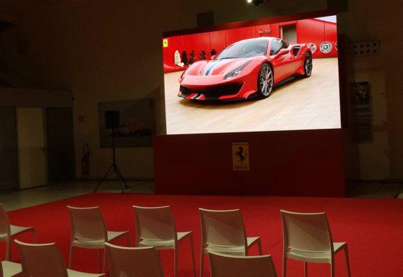 écran géant LED Supervision SV3.6 Ferrari