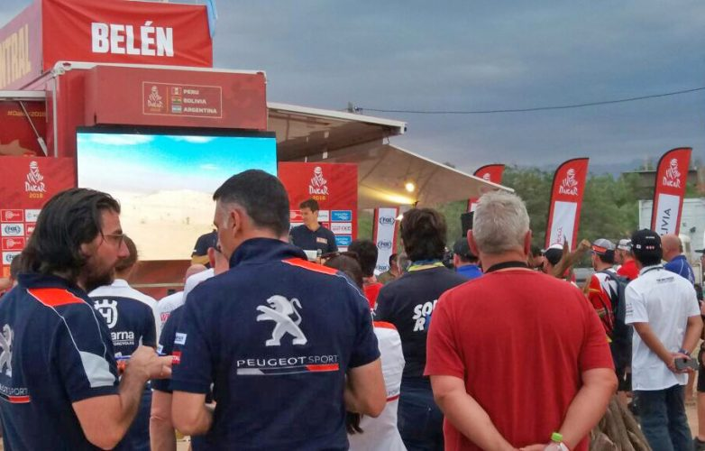 LED large video screen M5.8 Supervision Dakar 2018