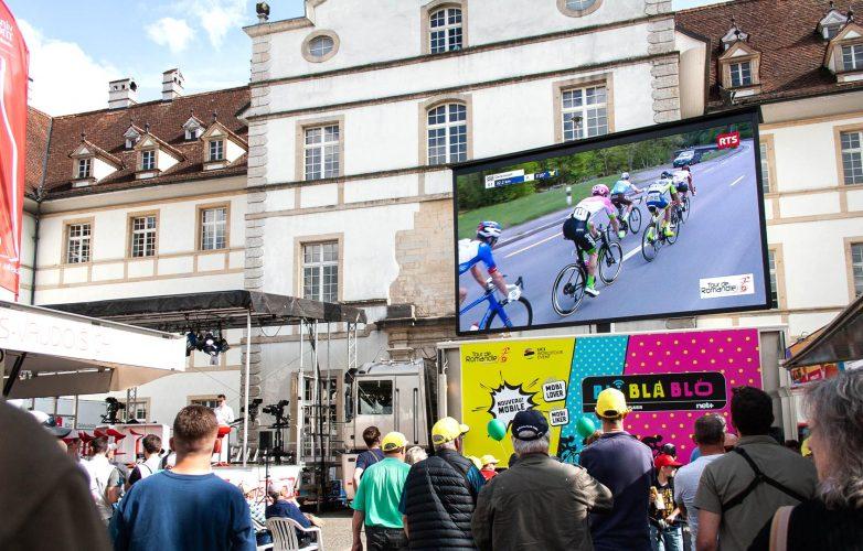 LED large video screen-Supervision-Tour-de-Romandie-LMC30-5