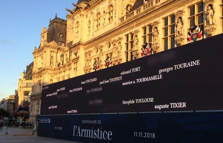 Led-large-video-screen-Supervision-Armistice-11-november-1918-Mairie-Paris-1